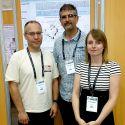 De gauche à droite :Laurent Urios (ingénieur de recherche), Régis Grimaud (professeur et coordinateur du projet),Claudie Barnier (Doctorante).